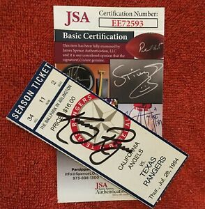 Baseball Collectible Autographed Ticket Stub Kenny Rogers Perfect Game #EE72593
