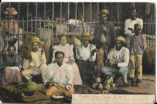 market scene colon postcard early 1900s
