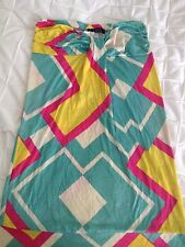 t bags strapless knot dress size small