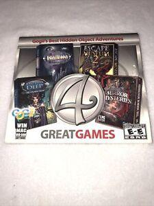 4 Great Games PC Princess Isabella Mirror Empress Deep Escape Museum