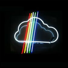 New Rainbow Cloud Bar Pub Wall Decor Acrylic Neon Light Sign 17""