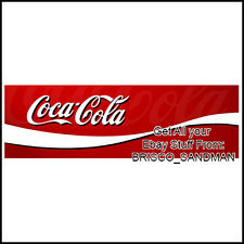 Fridge Fun Refrigerator Magnet COCA COLA LOGO BANNER - Version B - Coke