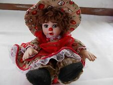 Marie Osmond Apple Spice Muffin Rag A Muffin Doll COA + Doll Necklace Muffin Cup