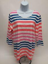 Women's Medium Denim & Co. Long Sleeve T-Shirt