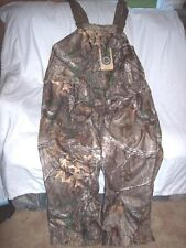Mens Large Bib Overalls Real Tree Camo Non Insulated Bib Coveralls Water Proof