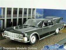 LINCOLN CONTINENTAL MODEL CAR JAMES BOND GOLDFINGER FILM SALOON 1:43 SCALE IXO K
