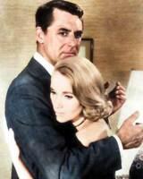 Cary Grant & Eva Marie Saint 8x10 RARE COLOR Photo 727