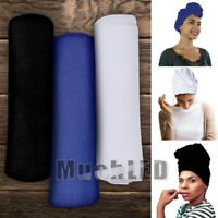 Women's Turban Stretch Knit Head Wrap Hair Jersey Scarf Tie Chemo African 175x81
