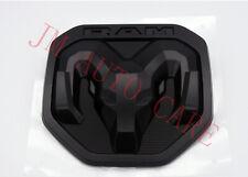 2019 DODGE RAM 1500 DT Matte Black Tailgate RAMs Head emblem NEW OEM MOPAR