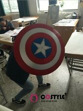 1:1 58cm Avengers Captain America ABS Shield Leather For Cosplay props