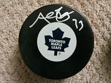 Al Iafrate Toronto Maple Leafs autographed puck COA
