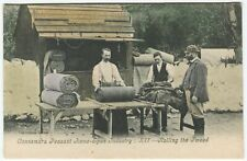 More details for connemara peasant home spun industry xii- rolling the tweed - co galway postcard