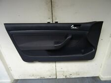 *VW GOLF MK5 2 DR 04-09 DARK GREY PASSENGER LEFT FRONT DOOR CARD PANEL ELECTRIC