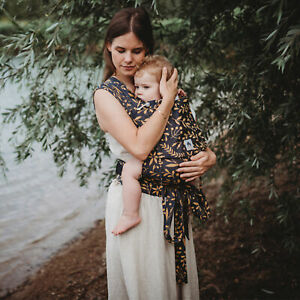 LIMAS - Flora Honey Moon - Halfbuckle - Babytrage - Tragehilfe - inkl. Brustgurt