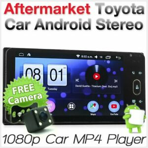 Android Car For Toyota Avensis Verso Kluger GT86 Subaru BRZ Stereo MP3 GPS Radio