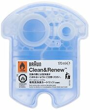 Braun Clean and Renew 4 Pack, Cartridge, Refill, Replacement Cleaner, Cleaning