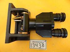 Nikon OPTISTATION 3 Binocular Eyepiece Microscope Assembly CFUWN 10x/26.5 Used
