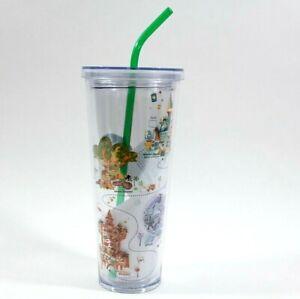 2020 Disney Parks WDW Starbucks Venti Large 24 oz Acrylic Tumbler - NEW