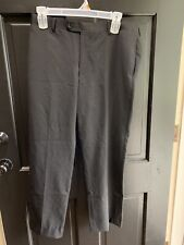 Pronto- uomo Platinum Men Dress Pants Size 36W Grey