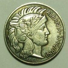 Coin 1 Franga Ari 1927 Albania