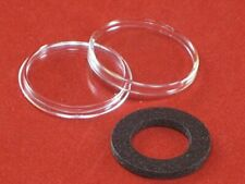 10 Black Ring Type 16mm Air Tite Coin Holders for 1/10oz Gold Eagles