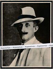 Hermann Löns - Portrait Des Dichters & Schriftstellers - to 1910 - R 6-3