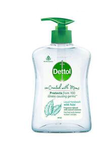 Dettol Co-created with moms Tulsi handwash Pump 200ml  KU