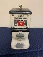 Rare Vintage Penny Soap Vending Machine