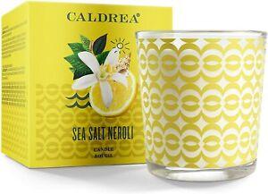 Caldrea Candle, 8.1-Ounce, Sea Salt Neroli