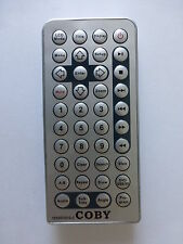 COBY PORTABLE DVD PLAYER REMOTE CONTROL for TFDVD7051D-C