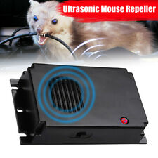 Mini Ultrasonic Mouse Rat Pest Repeller Battery Powered Home Kitchen Car Canteen