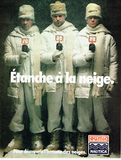 Publicité advertising 127 1979 eumig nautica snow waterproof camera