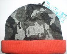 NUOVO DA BAMBINO RAGAZZI Cappello età 6-18 Mesi M&S berretto mimetica arancione