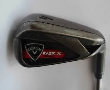 Callaway RAZR X Black 4 IRON   Dynamic Gold R300 Steel Shaft    Golf Pride Grip