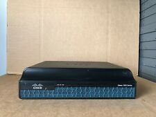 Cisco 1941 Router (Cisco 1941/K9) with SecurityK9 & IPBaseK9 License