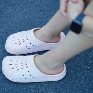 {FY6045} adidas Adilette Clogs Swimming- Pink Tint *NEW* women size