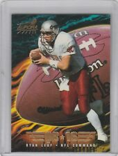1998 Pacific Aurora - NFL Command #9 Ryan Leaf RC