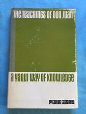 THE TEACHINGS OF DON JUAN - BY CARLOS CASTANEDA