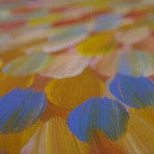 ABORIGINAL ART PAINTING by GLORIA PETYARRE 'BUSH MEDICINE LEAVES' Authentic '''