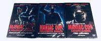 TRILOGIA MANIAC COP (Regia Lustig) 3 DVD Rai - O1 Distribution - Audio Italiano