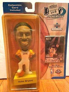 NEW! 2001 NBA Upper Deck Playmakers Kobe Bryant Lakers All-Star Bobblehead