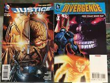 Justice League #40 & FCBD Set (First Grail) NM+