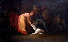 french Original Large Antique Oil Painting Of Venice Sigismond Jeanes C 1915 Soft And Light