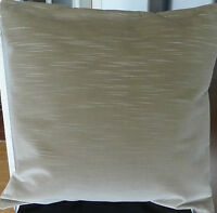 STONE BEIGE 100% COTTON VELVET CUSHION COVER