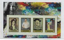 España Pintura Picasso Hojita Recuerdo de Serie del año 1978 (EQ-787)