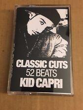 DJ Kid Capri Classic Cuts 52 Beats 90s NYC Hip Hop Cassette Mixtape Tape