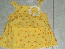 "NWT - Gymboree ""Daisy Giraffe"" one pc yellow skirted shorts romper - 0-3 mos"