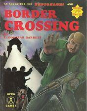 Espionage RPG- Border Crossing Adventure, Mercenaries Spies & Private Eyes MS&PI
