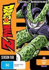 Dragon Ball Z Remastered Uncut Season 5 (Eps 140-165) NEW R4 DVD