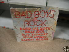 Bad Boys of Rock vinyl LP Rod Stewart Sammy Hagar PRIORITY 1986 VG+ in SHRINK